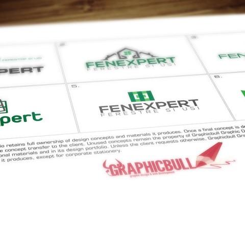 Fenexpert logo design